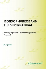 Icons of Horror and the Supernatural by: S. T. Joshi ISBN10: 0313337829