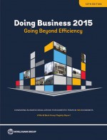 Doing Business 2015 by: World Bank ISBN10: 1464803528