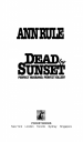 Book: Dead by Sunset (mentions serial killer Patricia Allanson)