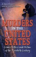 Book: Murders in the United States (mentions serial killer Juan Vallejo Corona)