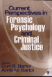 Current Perspectives in Forensic Psychology and Criminal Justice by: Curt R. Bartol ISBN10: 1412925908