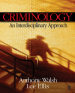 Criminology by: Anthony Walsh ISBN10: 1412938406