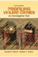 Profiling Violent Crimes by: Ronald M. Holmes ISBN10: 1412959985