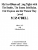 Book: Miss O'Dell (mentions serial killer Diane Odell)