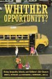 Book: Whither Opportunity? (mentions serial killer Joseph Edward Duncan)
