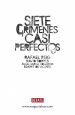 Book: Siete crímenes casi perfectos (mentions serial killer Francisco Garcia Escalero)